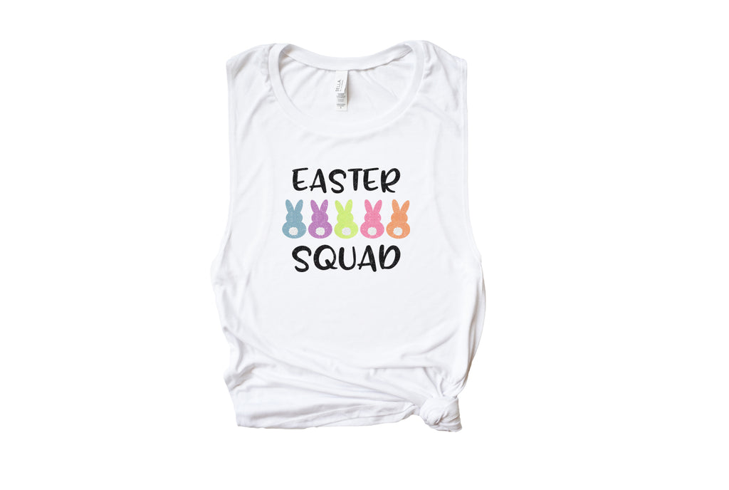 easter squad muscle tank