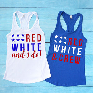 red, white & i do!
