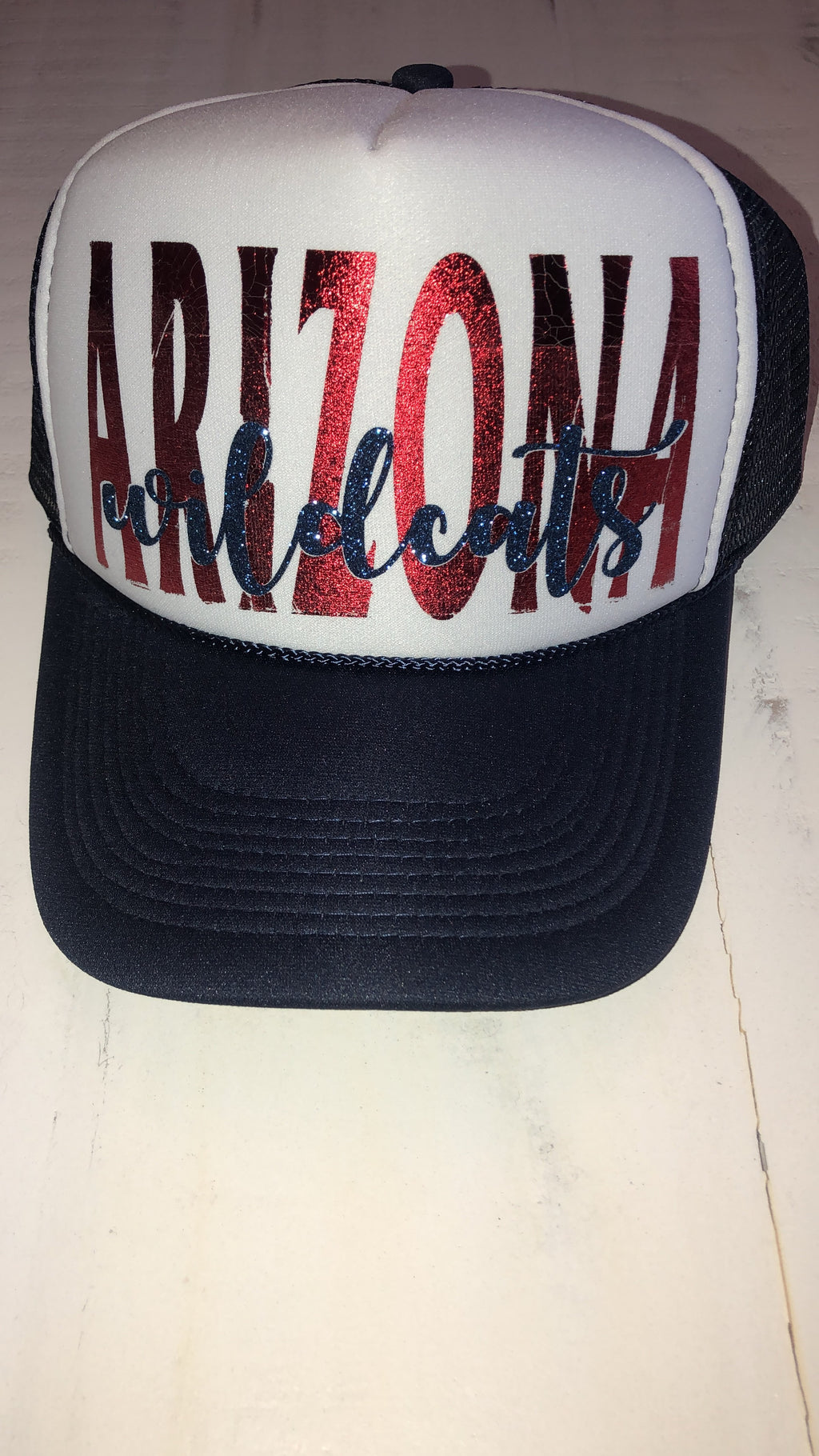 arizona wildcats trucker hat