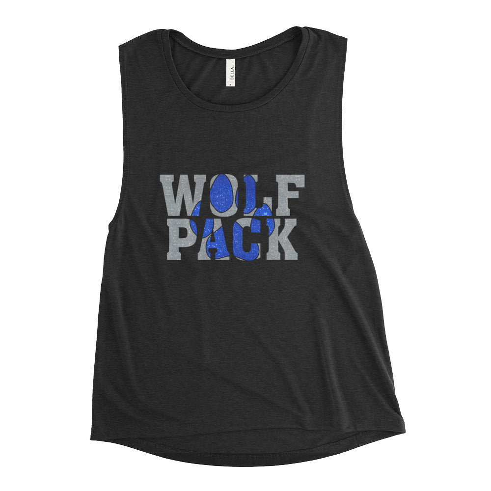 chandler wolf pack muscle tank