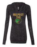 respect the bear burnout hoodie