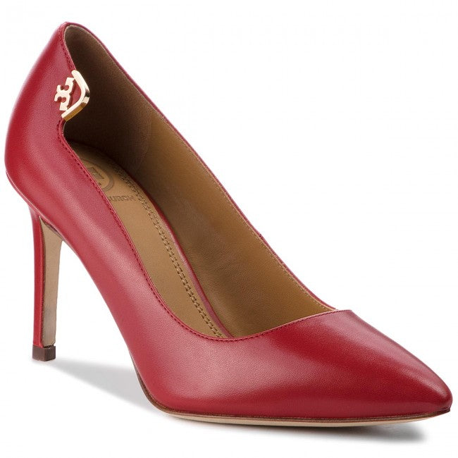 Elisabeth Dark Redstone Pumps