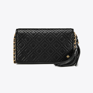 Tory Burch - Flemming Flat Wallet Cross-Body