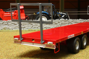 Rep011 Replicagri Maupu Trailer With 30 Round Bales Tractors And Machinery (1:32 Scale)