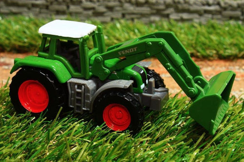 1039 SIKU 187 SCALE FENDT TRACTOR WITH LOADER