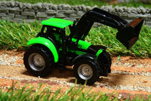 Load image into Gallery viewer, 1043 Siku 187 Scale Deutz Tractor With Loader Tractors And Machinery (1:87 Scale)