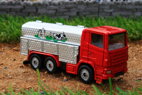 1331 SIKU 187 SCALE SCANIA MILK LORRY