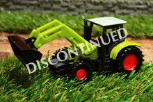 Load image into Gallery viewer, 1335 Siku 187 Scale Claas Tractor With Loader Tractors And Machinery (1:87 Scale)