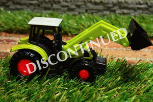 1335 SIKU 187 SCALE CLAAS TRACTOR WITH LOADER