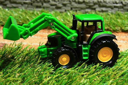 1341 SIKU 187 SCALE JOHN DEERE TRACTOR WITH LOADER