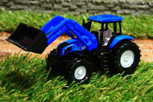 Load image into Gallery viewer, 1355 Siku 187 Scale New Holland Tractor With Loader Tractors And Machinery (1:87 Scale)