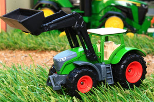 1393 Siku 187 Scale Fendt Vario 1050 Tractor With Loader Tractors And Machinery (1:87 Scale)
