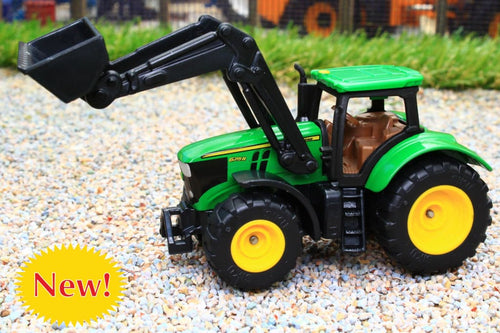 1395 SIKU 187 SCALE JOHN DEERE TRACTOR WITH FRONT LOADER