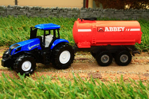 1642 Siku 187 Scale New Holland Tractor With Abbey Slurry Tanker Tractors And Machinery (1:87 Scale)