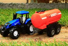 Load image into Gallery viewer, 1642 Siku 187 Scale New Holland Tractor With Abbey Slurry Tanker Tractors And Machinery (1:87 Scale)