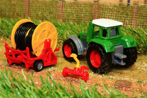 1677 Siku 187 Scale Fendt Tractor With Irrigation Reel Tractors And Machinery (1:87 Scale)