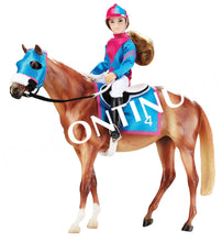 Load image into Gallery viewer, BR1727 Breyer Traditional - Let's Go Racing (1:9 scale)