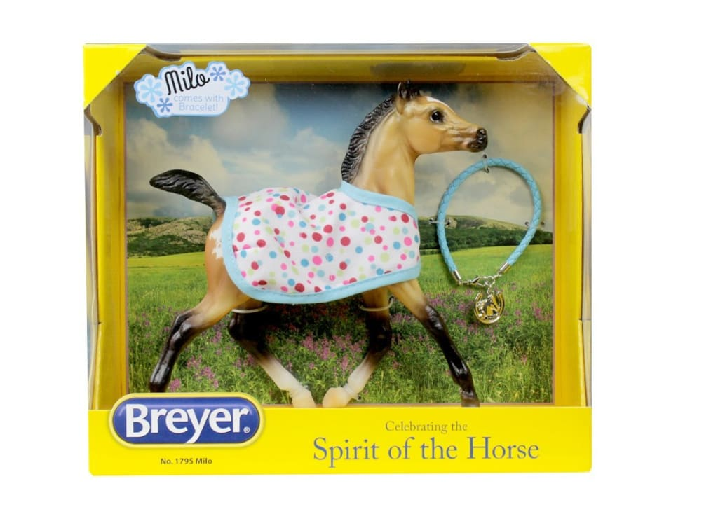 BR1795 Breyer Spirit of the Horse Milo (1:9 scale)