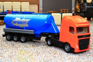 1795 SIKU 1:87 SCALE VOLVO ARTICULATED LORRY WITH BULK MATERIALS TANK