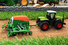 Load image into Gallery viewer, 1826 SIKU 187 SCALE CLASS TRACTOR WITH AMAZONE SEEDER