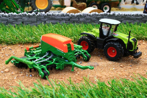 1826 SIKU 187 SCALE CLASS TRACTOR WITH AMAZONE SEEDER