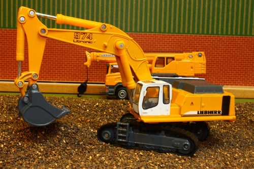 1874 Siku 187 Scale Liebherr Hydraulic Excavator Tractors And Machinery (1:87 Scale)