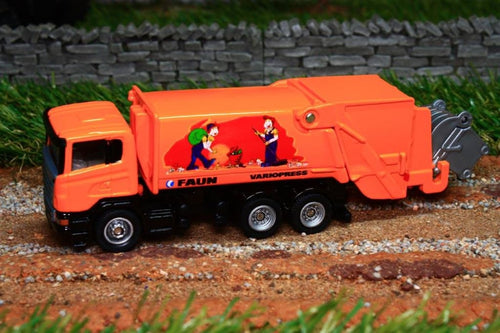 1890 Siku 187 Scale Scania Refuse Wagon Tractors And Machinery (1:87 Scale)