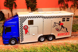 1942 Siku 150 Scale Lorry Based Horse Transporter With Living Area Tractors And Machinery (1:50