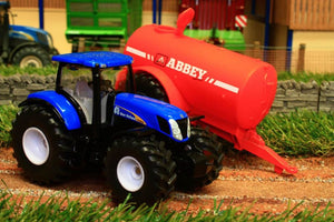 1945 SIKU 150 SCALE NEW HOLLAND TRACTOR WITH ABBEY SLURRY TANKER