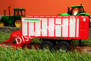 1971 SIKU 150 SCALE POTTINGER JUMBO TRAILED FORAGE WAGON