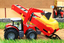 Load image into Gallery viewer, 1996 Siku 150 Scale Massey Ferguson Tractor With Conveyor Tractors And Machinery (1:50 Scale)