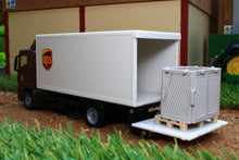 Load image into Gallery viewer, 1997 SIKU 150 SCALE UPS MAN TRUCK WITH BOX BODY AND TAIL LIFT