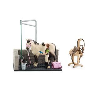 SL42104 Schleich Horse Wash Area (1:24 Scale)