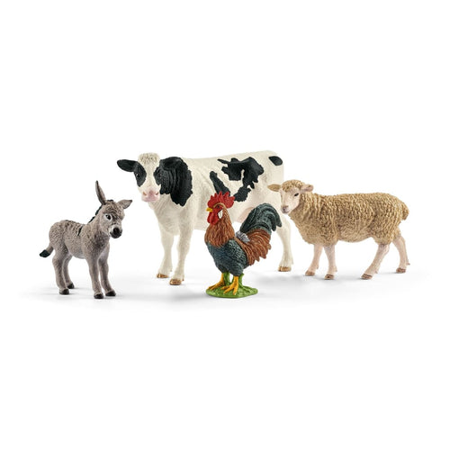 SL42385 Schleich Farm World Animal Starter Set