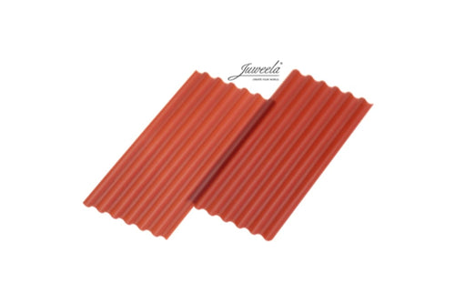 JL23267 Juweela Corrugated Sheets Red 15 pcs