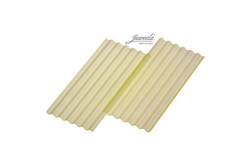 JL23273 Juweela Corrugated Sheets Transparent yellow 6 Pcs