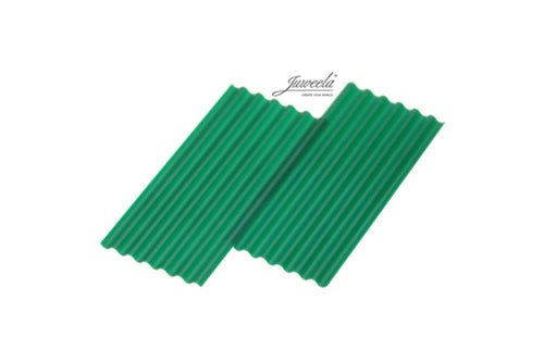 JL23292 Juweela Corrugated Sheets Green 50 Pcs