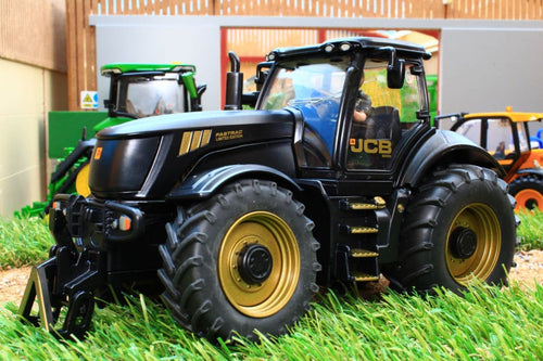 3267 SIKU GOLD AND BLACK JCB FASTRAC 8250 TRACTOR LIMITED EDITION