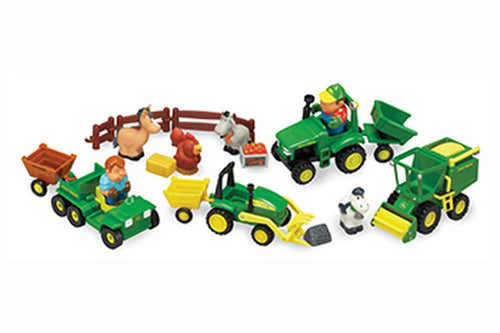 34984 BRITAINS JOHN DEERE FUN ON THE FARM