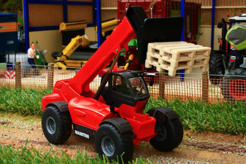 3507 Siku 150 Scale Manitou Mht10230 Telehandler Tractors And Machinery (1:50 Scale)