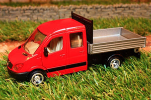 3538 Siku 150 Scale Mercedes Sprinter With Tipper Back Tractors And Machinery (1:50 Scale)