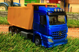 3549 Siku 150 Scale Mercedes-Benz Arocs Tipper Lorry Tractors And Machinery (1:50 Scale)