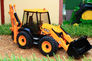 3558 SIKU 150 SCALE JCB 4CX BACKHOE LOADER