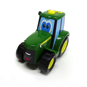 37910 BRITAINS JOHN DEERE JOHNNY TRACTOR - WITH LIGHTS + SOUND