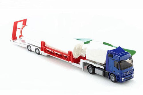 3935 Siku Wind Turbine And Low Loader Transporter (1:50 Scale) Tractors Machinery