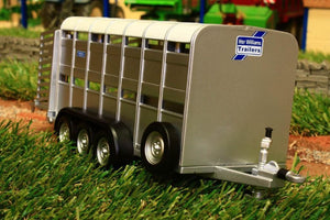 40710A1 BRITAINS IFOR WILLIAMS LIVESTOCK TRAILER WITH TWO DECKS