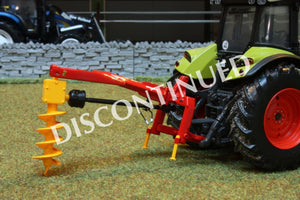 Uh4093 Universal Hobbies Rabaud Mounted Post Auger Tractors And Machinery (1:32 Scale)