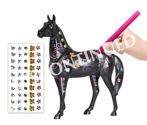 Br4204 Breyer Arts & Crafts - Decorate Your Horse (1:12 Scale) Equestrian Department (All Scales)