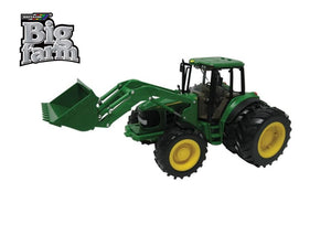 42425 BRITAINS BIG FARM JOHN DEERE 6830 PREMIUM TRACTOR AND LOADER WITH LIGHT AND SOUND