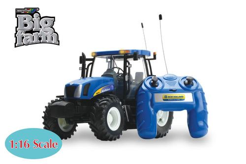 42601A1 Britains Big Farm Radio Control New Holland T6070 Tractor (1:16 Scale)